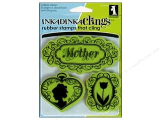Inkadinkado Stamp Inkadinkaclings Vintage Mothers