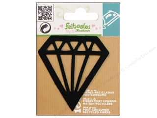 Feltables Black: Feltables Fashion Iron On Diamond