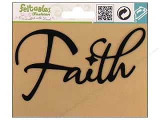 Feltables Iron On Designs: Feltables Fashion Iron On Faith