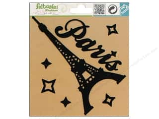 Finishes $6 - $7: Feltables Fashion Iron On Paris Eiffel Tower 7pc