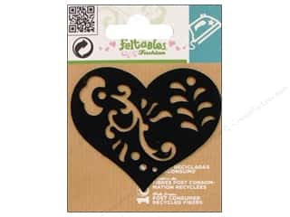 Feltables Fashion Iron On Filigree Heart