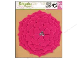 Feltables Fashion Embel Corsage Camelia Fuchsia