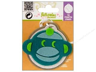Clearance Feltables Fashion Embellishment: Feltables Fashion Embellishment Tag Monkey