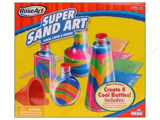 Children Crafting Kits: RoseArt Kit Super Sand Art
