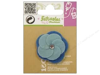 Feltables Fashion Embl Cutie Twist Flower Blue