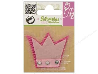 Feltables Fashion Embl Cutie Tulle Crown Pink