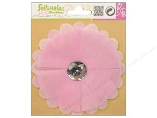 Felt Feltables Fashion Embellishment: Feltables Fashion Embellishment Corsage Tulle Daisy Pink