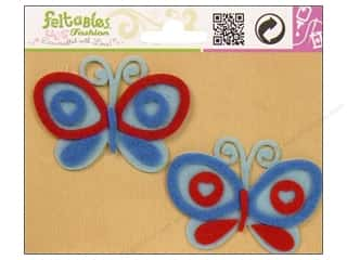 Feltables Fashion Embl Butterfly Duo Blue/Red