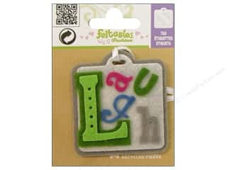 Felt Feltables Fashion Embellishment: Feltables Fashion Embellishment Tag Laugh