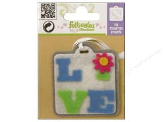Clearance Feltables Fashion Embellishment: Feltables Fashion Embl Tag Live