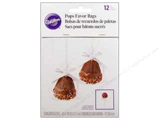 Wilton Clear: Wilton Cake Pops Favor Bags 12 pc.