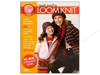 DVD Video Clearance Books: Boye I Taught Myself To Loom Knit Book