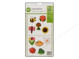 Wilton Molds Candy Set Garden Goodies 2pc
