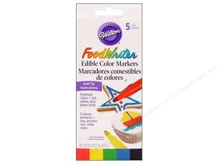Wilton Deco FoodWriter Edible Bold Tip Primary 5pc