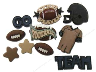 This & That $14 - $32: Jesse James Dress It Up Embellishments Sports Collection Football