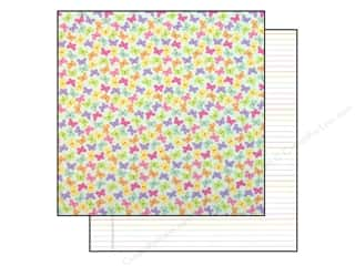 Doodlebug Paper 12x12 Hello Spring Baby Butterflys (25 piece)
