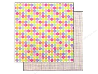 Doodlebug Paper 12x12 Hello Spring Color Dots (25 piece)