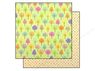 Spring Printed Cardstock: Doodlebug Paper 12x12 Hello Spring Happy Valley (25 piece)