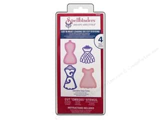 Spellbinders Shapeabilities Die Decorative Dress Forms