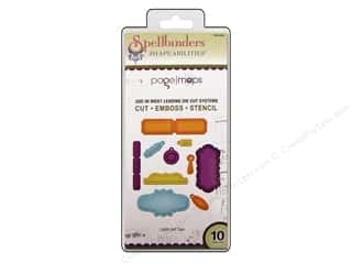 Spellbinders Shapeabilities Die Labels and Tags