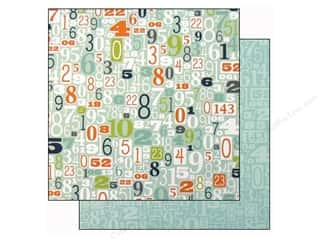Doodlebug Paper 12x12 Boys Only Digits (25 piece)