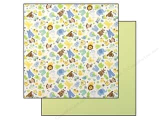 Baby Doodlebug Paper 12 x 12 in: Doodlebug Paper 12 x 12 in. Snips & Snails (25 pieces)
