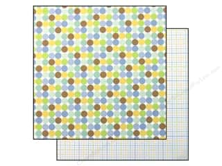 Doodlebug Paper 12 x 12 in. Little Boy Blue (25 piece)