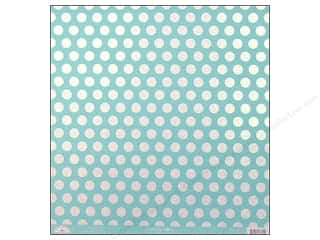 Doodlebug: Doodlebug Paper 12 x 12 in. Candy Dots Swimming Pool (25 sheets)