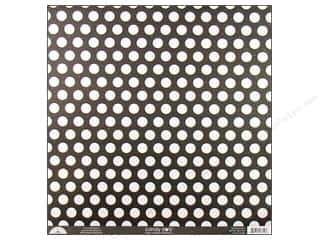 Clearance Doodlebug Glitter: Doodlebug Paper 12 x 12 in. Candy Dots Beetle Black (25 sheets)