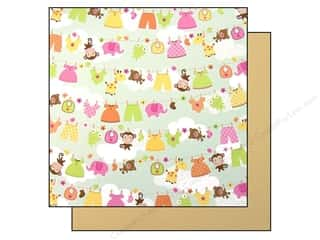 Baby Doodlebug Paper 12 x 12 in: Doodlebug Paper 12 x 12 in. Sugar & Spice Hanging Out (25 pieces)