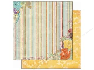 Bo Bunny Paper 12x12 Ambrosia Stripe (25 piece)