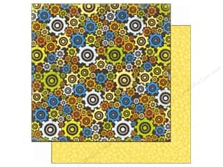 Bo Bunny Paper 12x12 On The Go Gears (25 piece)
