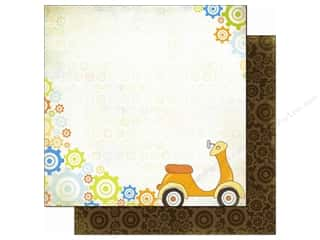Bo Bunny Paper 12x12 On The Go Scooter (25 piece)