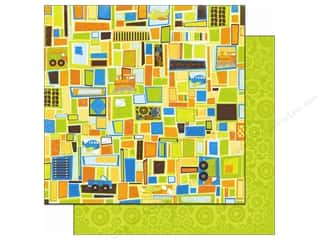 Bo Bunny Paper 12x12 On The Go Squares (25 piece)