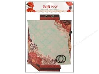 Chipboard Shapes  Flowers: Bo Bunny Album Mini Edgy Serenity