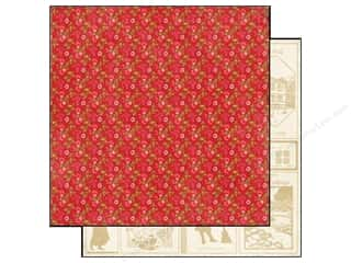 Echo Park Paper 12x12 This&That Graceful Red Florl (25 piece)