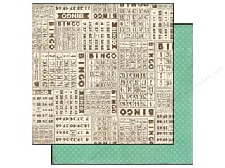 Grace Company, The inches: Echo Park 12 x 12 in. Paper This & That Graceful Collection Bingo (25 pieces)