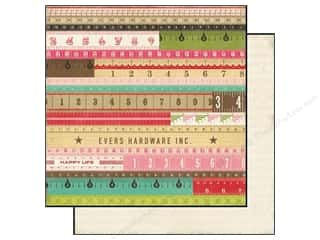 Grace Company, The inches: Echo Park 12 x 12 in. Paper This & That Graceful Collection Yardsticks (25 pieces)