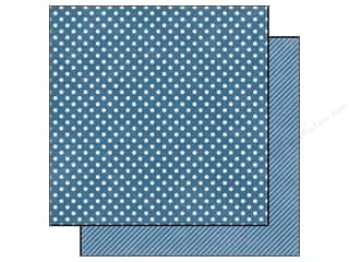 Echo Park 12 x 12 in. Paper Blueberry Small Dot (25 piece)