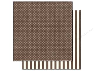 Echo Park 12 x 12 in. Paper Chestnut Tiny Dot (25 piece)