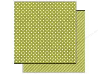 Echo Park 12 x 12 in. Paper Kiwi Small Dot (25 piece)