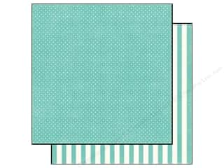 Echo Park 12 x 12 in. Paper Aqua Tiny Dot (25 piece)