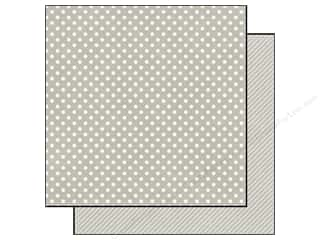 Echo Park 12 x 12 in. Paper Seltzer Grey Small Dot (25 piece)