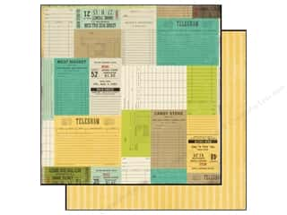Echo Park Paper 12x12 This & That Charming Tickets (25 piece)