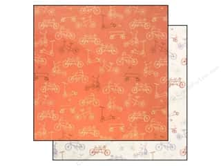 "Making Memories Brown: Making Memories Paper 12""x 12"" Sarah Jane On The Go (25 pieces)"