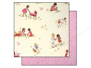 "Making Memories Paper 12""x 12"" Sarah Jane Playing Dolls"
