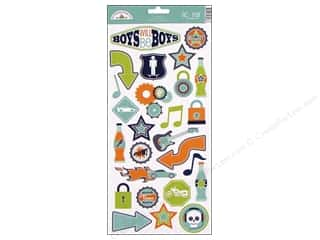 stickers  cardstock: Doodlebug Stickers Cardstock Icons Boys Only