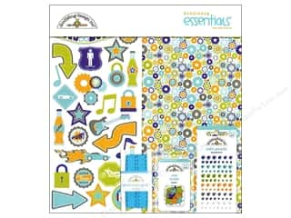 Doodlebug Kit Essentials Paper Boys Only