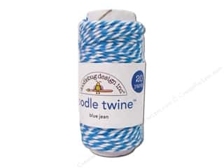 Doodlebug Doodle Twine Spool Blue Jean