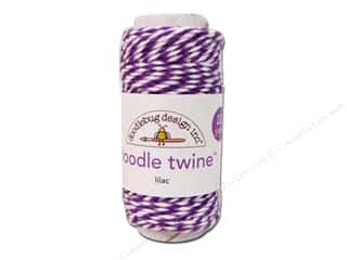 Papers $20 - $100: Doodlebug Doodle Twine 20 yd. Lilac